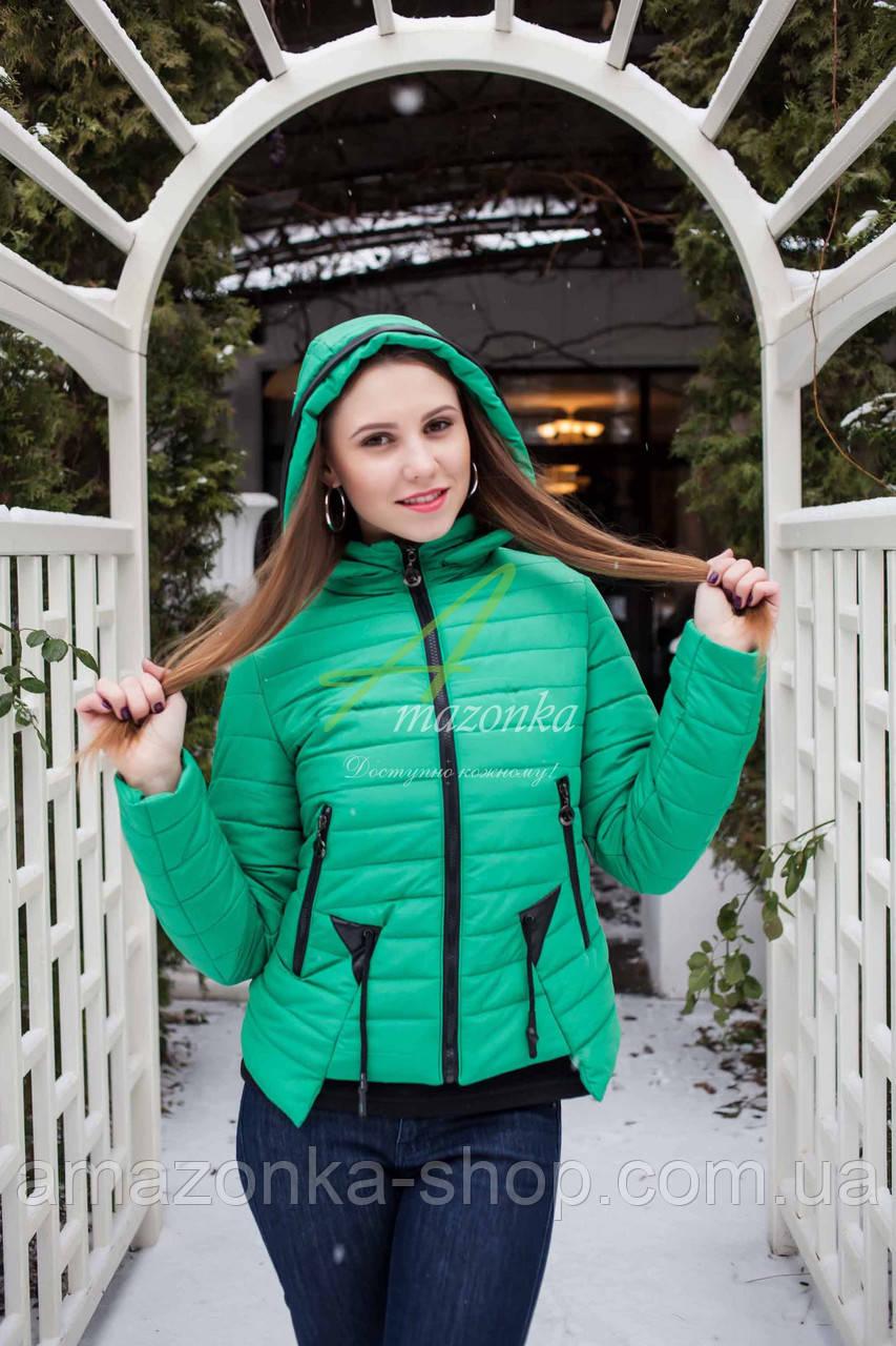 Брендовая женская куртка от производителя на весну 2018 - (модель кт-89)