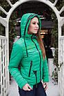 Брендовая женская куртка от производителя на весну 2018 - (модель кт-89), фото 2
