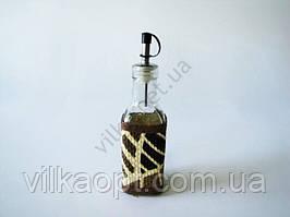 Ёмкость стеклянная  для масла 19 см.   Джунгли 0,25 л.