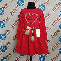 Платье детское на девочек длинный рукав TINEX-NK. ПОЛЬША