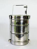 Судок-контейнер из 3-х 12 х 3   0,5 л.