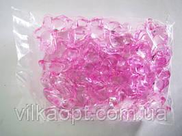 Кристалл пластмассовый большая бабочка 14737 - 5 х 4,5 см.