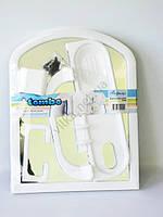 """Зеркало в ванную комнату в пластмассовой рамке TP2004 """"Tombо"""" с аксессуарами 4 штуки (48*37 cm.)"""