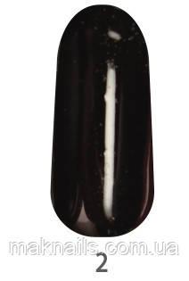 Гель-краска MY NAIL № 2 цвет черный 5 мл
