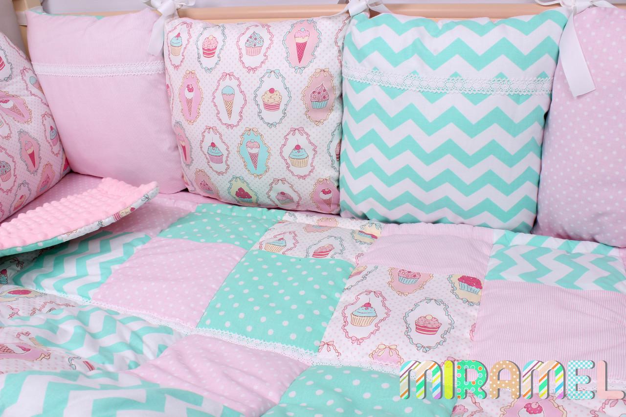 Постельное новорожденному в кроватку