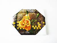 Картина  Роза желтая  20 х 25