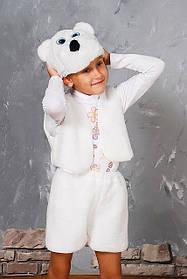 """Детский карнавальный костюм """"Белый мишка"""""""