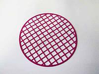 Коврик силиконовый в мойку д. 29 см.