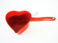 Ковшик пластмассовый Сердце  1 л.