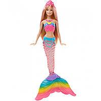 """Лялька Барбі Русалочка """"Яскраві вогники"""" (Barbie Русалочка Яркие огоньки, Barbie Rainbow Lights Mermaid)"""