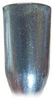 Зеркальная пудра Хром 04 голубое серебро  mART