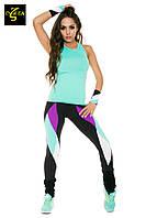 Женские спортивные лосины для фитнеса спорта танцев йоги