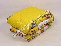 Двуспальное одеяло микрофибра/холлофайбер 008