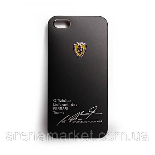 Алюминиевый чехол для iPhone 5/5S Ferrari