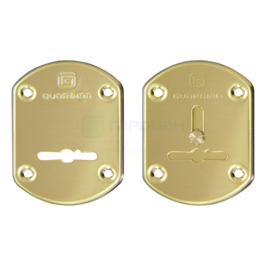 Дверная накладка сувальдная Гардиан ГЛ-21(пара)