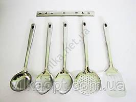 Набор кухонный половник, шумовка, лопатка