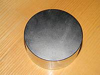 Неодимовый магнит D70хH50. N38.