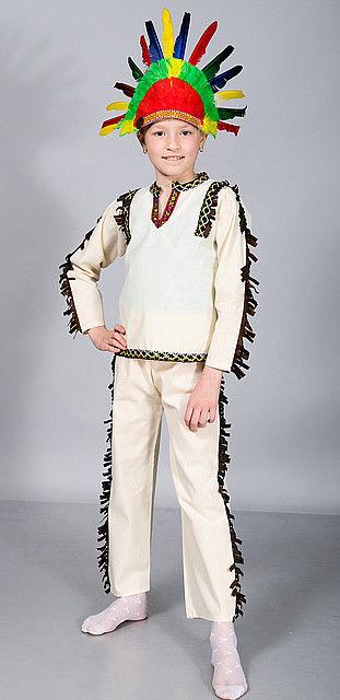 """Детский карнавальный костюм """"Индеец"""""""