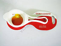 Ложка для отделения белка яйца 14 см. d 5 см.