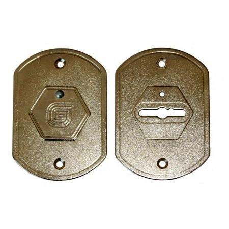 Дверная накладка сувальдная Гардиан ГН-20.01(пара)