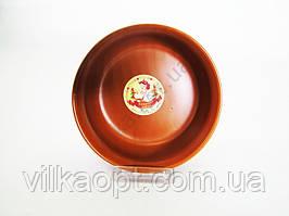 Салатник глина  №6  15 см.  В Brown