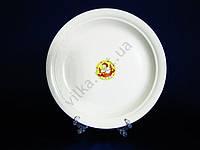 Тарелка мелкая  кремовая   25 см.  М Belge