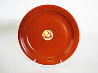 Тарелка мелкая  глина  25 см.  В Brown