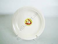 Тарелка мелкая  кремовая  19,7 см.  М Belge