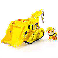 Paw Patrol Крепыш на буре Rubble's Lights and Sounds Construction Truck