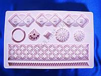 Молд кондитерский силиконовый Орнамент  12,5 х 19,5