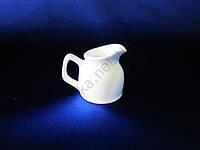 Молочник-кувшин керамический белый большой
