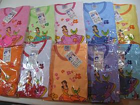 Пижама для девочек трикотажная, размеры  98/104-134/140, арт. 009