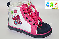 Ботинки детские демисезонные для девочки CBT.T (26-31) A 53-3