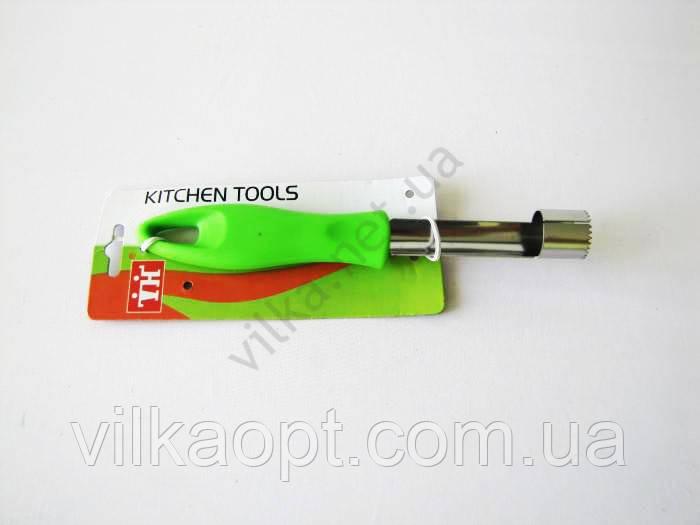 Нож для удаления сердцевины яблока с пластмассовой ручкой 19 см.