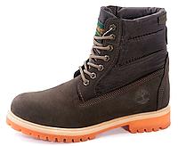 Ботинки мужские Timberland с мехом - 17Z .