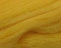 Толстая, крупная пряжа 100% шерсть мериноса. Цвет: Канарейка. 21-23 мкрн. Топс.
