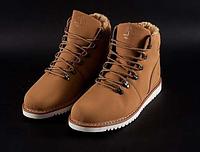 Ботинки мужские  Timberland winter (мех) - 41Z.