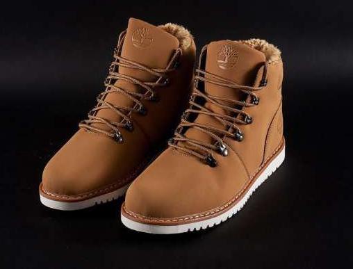 Ботинки мужские  Timberland winter (мех) - 41Z(Оригинал).