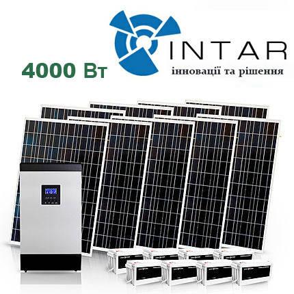Автономная солнечная электростанция 4 кВт, фото 2