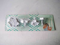 Плунжер кондитерский из 4-х  Цветок 16130