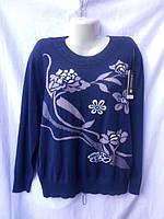 Женский свитер зимний большой размер