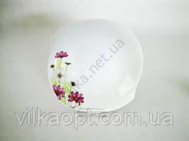 Салатник S#  Космея  №10 - 22 х 5 см. (12 шт. в уп.)