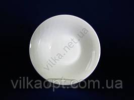 Салатник Белая гладь №6 – d 15,2 cm h 4,4 см. (12 шт. в уп.)