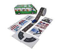 """Базовый игровой набор для игры с машинками """"Зеленый автобус """"Быстрый старт"""" укр."""