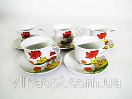 Сервиз чайный  Тюльпаны