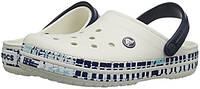 Кроксы мужские Crocs Oyster Navy Crocband размер М11 44 Оригинал