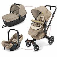 Детская универсальная коляска 3в1 Concord Neo Travel Set 2017 Powder beige