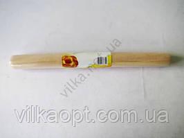 Скалка деревянная цельная  2,5 см х 28 см