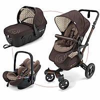 Детская универсальная коляска 3в1 Concord Neo Travel Set 2017 Toffee brown