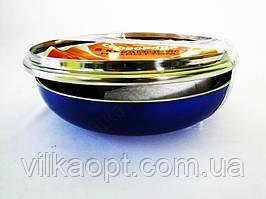 Сковорода AMY 22 см. синяя с тефлоном